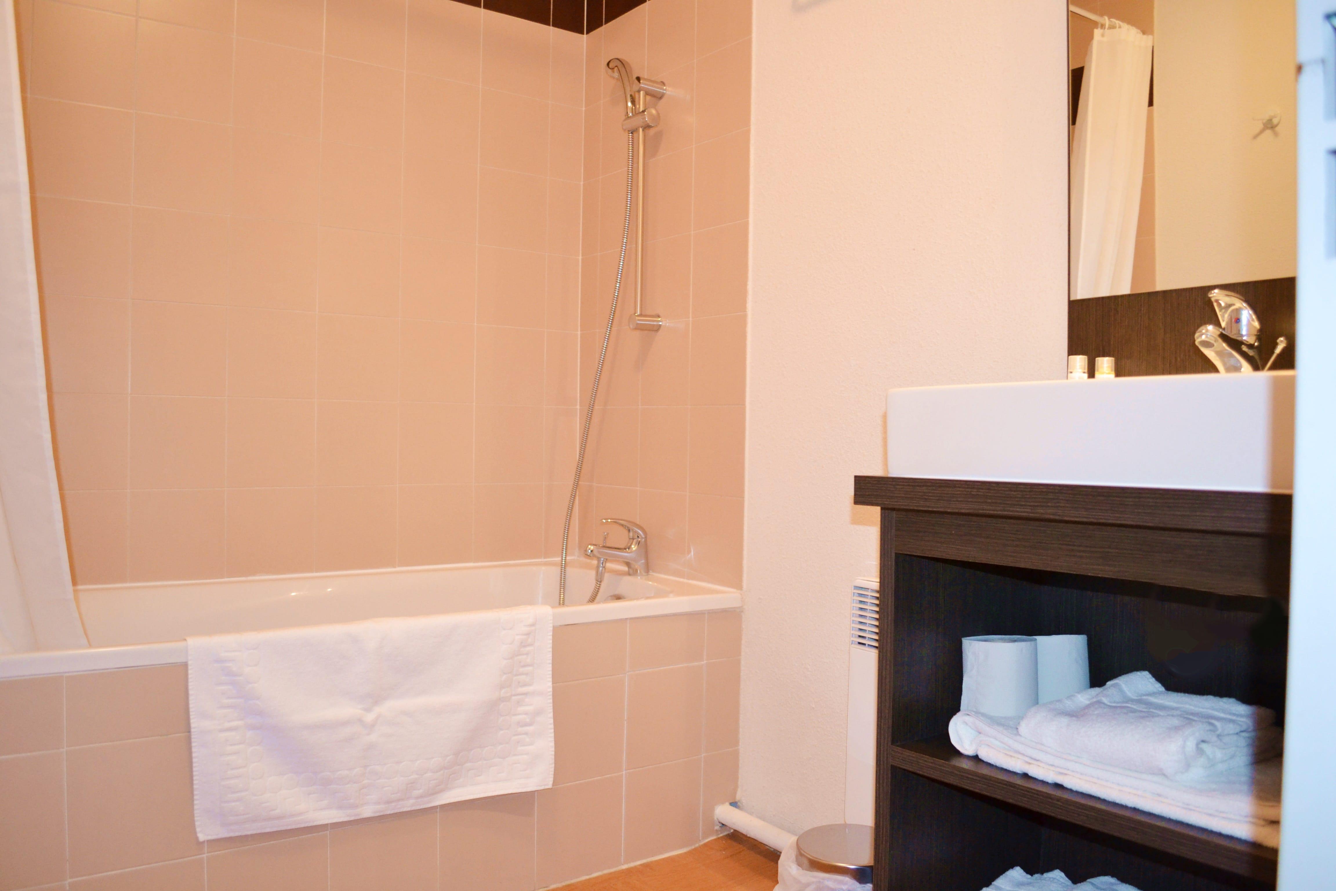 Douche Appartement Apart'Hotel Avignon