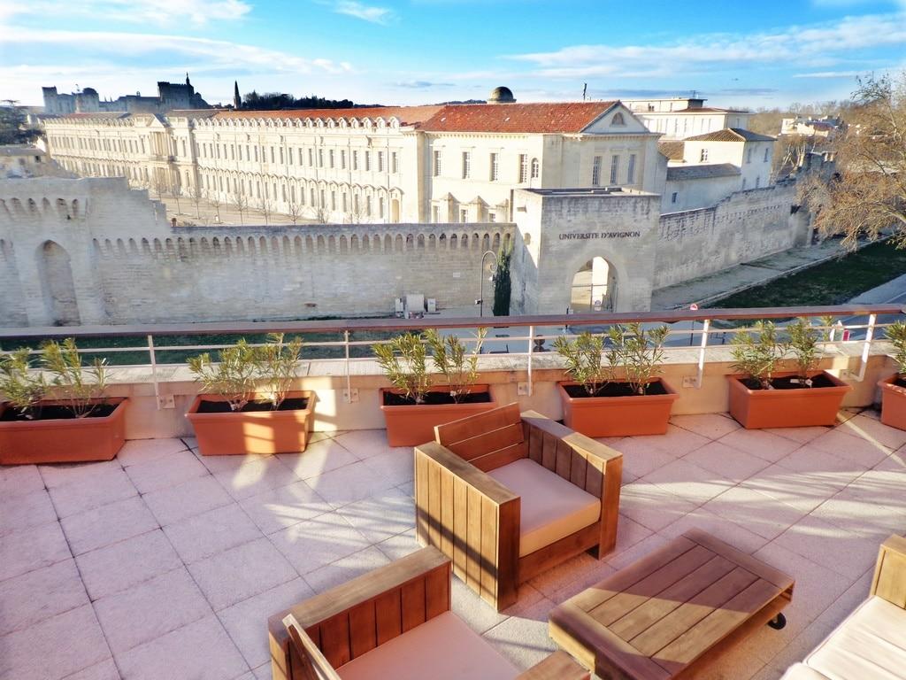 Vue panoramique Apart'Hotel